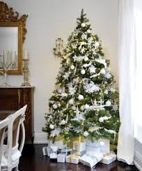 baby nursery stunning white christmas tree decor ideas