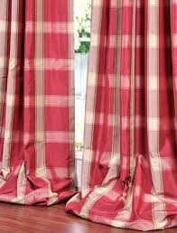 plaid curtains and drapes country curtains curtains valances