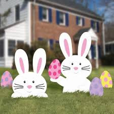 Easter Decorations Amazon by Easter Yard Decorations Holly Jolly Holidays
