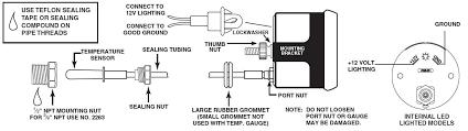 auto meter tach wiring model 288 wiring diagram simonand