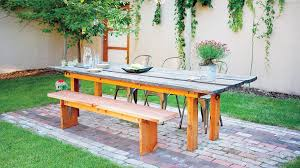 How To Draw A Picnic Table Great Ideas From The Western Garden Book Of Landscaping Sunset