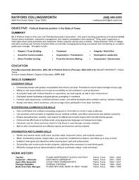 teaching resume templates professional profile education