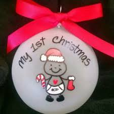 baby personalized custom ornaments
