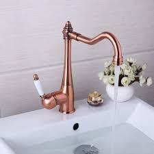 Retro Kitchen Faucet Kitchen Faucet 360 Swivel Retro Mixer Tap Fashion Antique Faucet