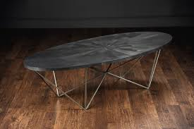 Long Coffee Table by Xl George Oval Coffee Table Silver Mecox Gardens
