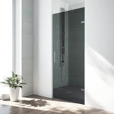 28 Shower Door Vigo Soho 28 Inch Adjustable Frameless Shower Door With Sheer