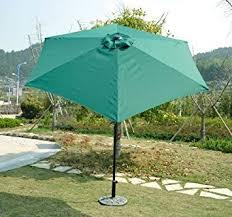 Patio Umbrella Clearance Amazon Com Outsunny Outdoor Aluminum Patio Market Umbrella With