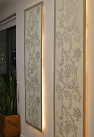 DIY Lighted Wall Panel Hometalk - Decorative wall panels design