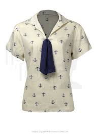 sailor blouse style 1930s tops and blouses for sale 1930s sailor and
