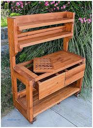 Garden Potting Bench Storage Benches And Nightstands Unique Potting Benches With