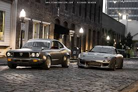 1973 rx 3 and 1993 rx 7 1680x1120 not my photo but my cars