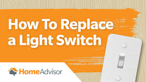 how to install a light switch wire or replace a light switch