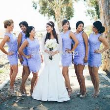 summer wedding dresses for guests summer lace lavender bridesmaid dresses gowns simple party