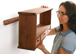 how to hang a cabinet to the wall hang it up finewoodworking