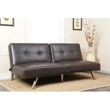 Futon Leather Sofa Bed Futons You Ll Wayfair