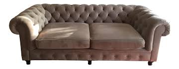 History Of Chesterfield Sofa by Arhaus Chesterfield Sofa Chairish