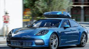 teal porsche porsche panamera 2017 add on replace gta5 mods com