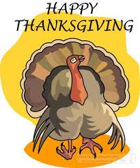 thanksgiving clipart clipart happy thanksgiving turkey