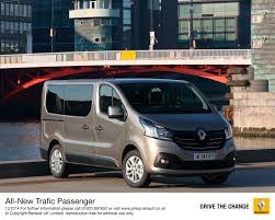 renault van 2017 uk new renault trafic and new renault master passenger prices