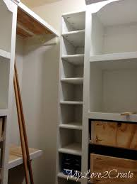 Diy Build Shelves In Closet by Slanted Wall Built Ins With Hidden Storage My Love 2 Create