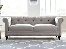 Grey Leather Chesterfield Sofa Leather Chesterfield Sofas Uk Makushina
