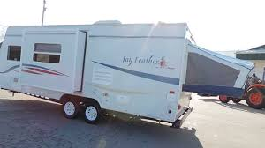 very nice clean 24 u0027 2007 jayco jay feather 23b hybrid 2 pop outs 1