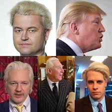 what is it with the modern fascist and this weird shitty haircut