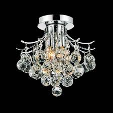 Crystal Ceiling Mount Light Fixture by Brizzo Lighting Stores 12