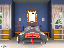 Red And Blue Bedroom Decorating Ideas Bedroom Magnificent Blue And Orange Bedroom Decoration Using Red