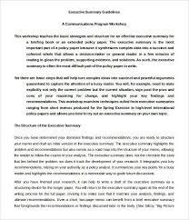 writing executive summary template report writing skills training