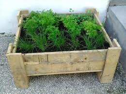 Wood Planter Box Plans Free by Pallet Planter Box Diy Diy Pallet Planter Box Instructions Diy