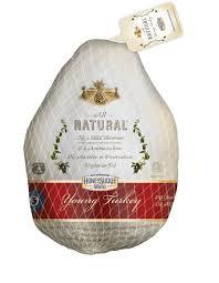 frozen whole turkey honeysuckle white