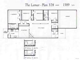 One Level House Plans Baby Nursery 4 Bedroom Floor Plans One Story One And A Half