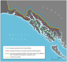 Ketchikan Alaska Map by Alaska Boundary Dispute Wikipedia