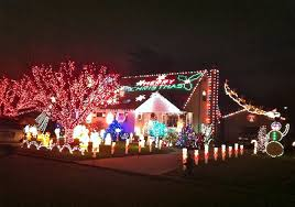 photo decorated houses u0027light u0027 up the holiday season long