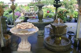 outdoor fountains yard pottery for ta apollo