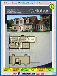 Multi Level Floor Plans Callahan Rochester Modular Home Cape Cod Multi Level Plan Price