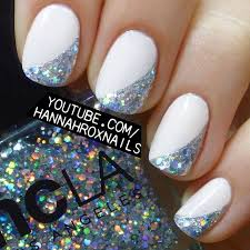 5 cute and dainty nail art designs with a white base formal