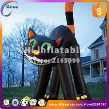 online get cheap inflatable halloween cat aliexpress com