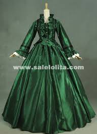 Halloween Costumes Victorian Wine Red Gothic Victorian Dresses French Bustle Period Ball Gowns