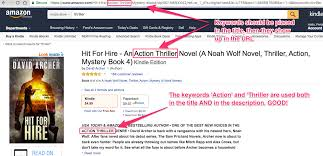 how do you write a book title in a paper five steps to sell more books on amazon written word media knows that hit for hire is a possible result it can show the reader as hit for hire contains thriller in the url the title and the description
