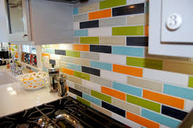 kitchen backsplash stick on tiles inspirational peel and stick