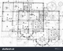architectural plan stock vector 76731175 shutterstock