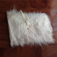 tappeti di pelliccia mongolia capelli lunghi tappeti in pelliccia di pecora tibet