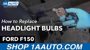 ford f150 headlight bulb how to replace install headlight bulbs 98 ford f150