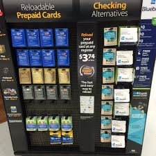prepaid money cards walmart starts offering gobank s checking product bank