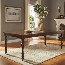 Expandable Dining Room Table Homesullivan Madison Burnished Dark Oak Extendable Dining Table