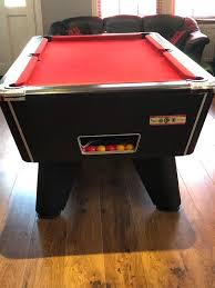 slate base pool table aramith 6ft black slate base pool table with red felt including