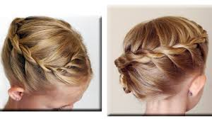large hair pleats twisted rope french braid hair tutorial cute girls hairstyles