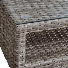 ink ivy ii146 0142 avery outdoor coffee table in grey wicker w
